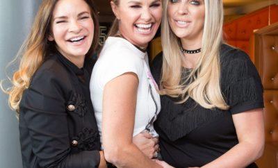Erica Millen, Kelly Farley and Carla Lawson